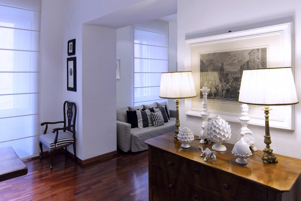 Arredare un appartamento a roma ristrutturazione d for Interior design roma